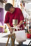 La Mostra d'Oficis Tradicionals va comptar amb la participació d'una empresa castellbisbalenca que elabora cervesa de forma artesanal.