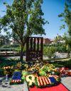 Ofrenes florals al Monument 1714