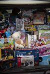 """Trial 4x4 solidari per recollir joguines per a la campanya """"Cap infant fora de joc"""""""
