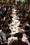 Quinto organitzat per la Colla Gegantera de Castellbisbal
