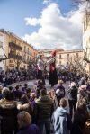 Coincidint amb el 25è aniversari de'n Manel i la Vicenta, la trobada de gegants d'enguany ha comptat amb la presència de molts gegants músics