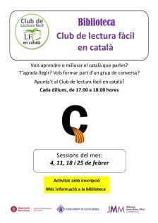 Club de lectura fàcil en català