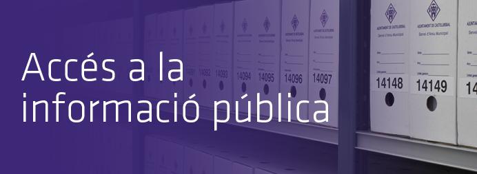 Accés a la informació pública