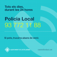 Policia Local. Telèfons